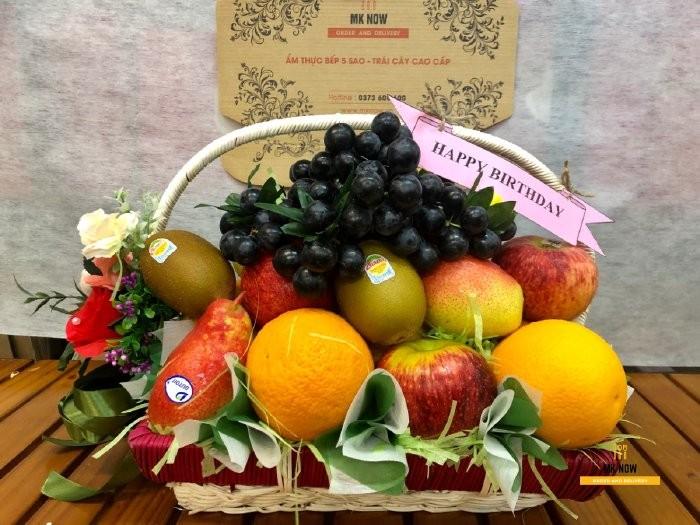 Quà tặng trái cây làm quà tặng nhân viên, đồng nghiệp