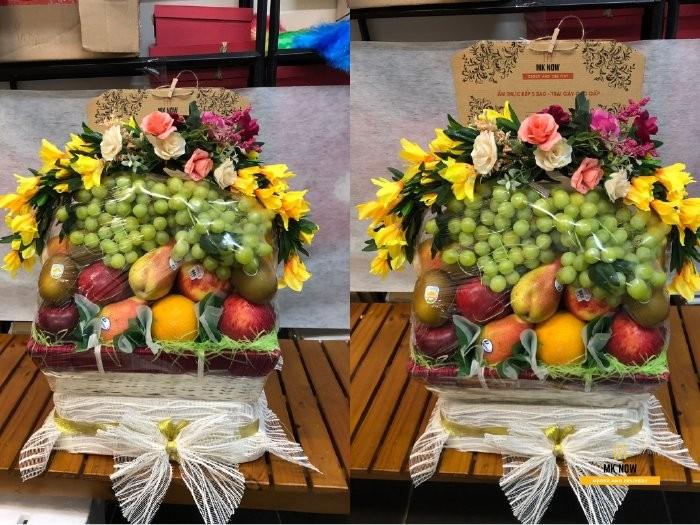 Đặt Giỏ trái cây đám cưới - FSNK76 cùng MKnow1