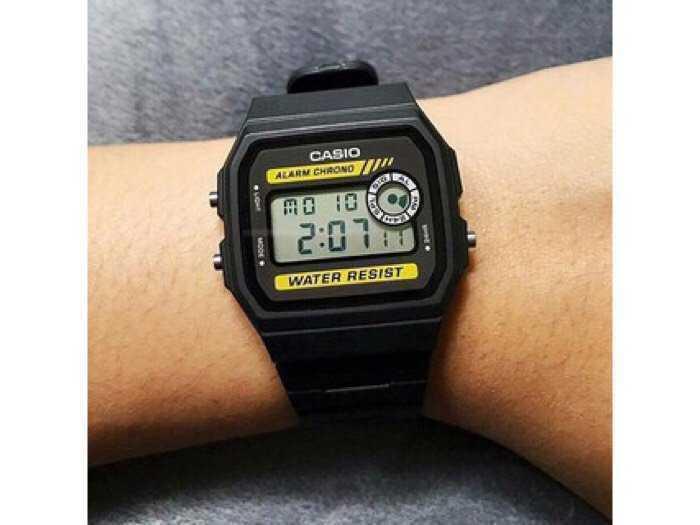 Đồng hồ Casio made In Thái Lan dây nhựa huyền thoại chống nước0