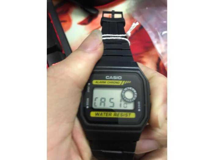 Đồng hồ Casio made In Thái Lan dây nhựa huyền thoại chống nước1