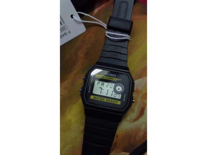 Đồng hồ Casio made In Thái Lan dây nhựa huyền thoại chống nước2