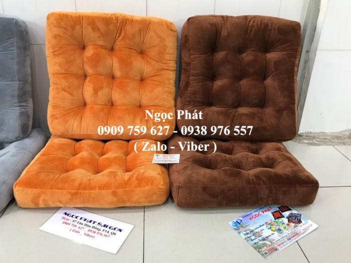 Nệm Ngồi Bệt 45x45cm Giá Rẻ. Nệm ngồi gòn. Đệm ngồi, đệm ngồi bệt. Gối tựa lưng. Gối Tựa Sofa.0