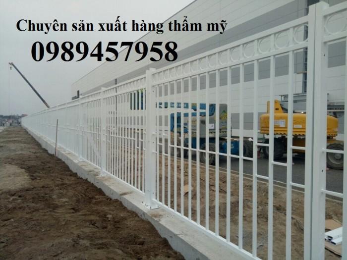 Hàng rào vườn, hàng rào sơn tĩnh điện2