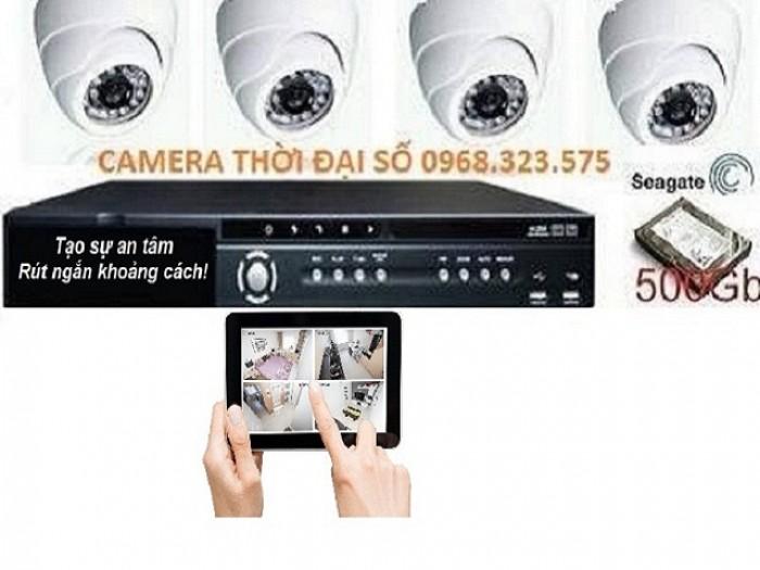 Lắp đặt bộ Camera chính hãng HIKVISION,hồng ngoại4