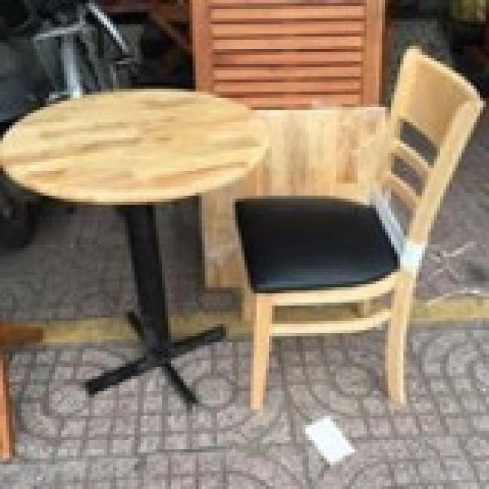 Thanh lý ghế gỗ cafe bọc nệm giá rẻ tphcm3