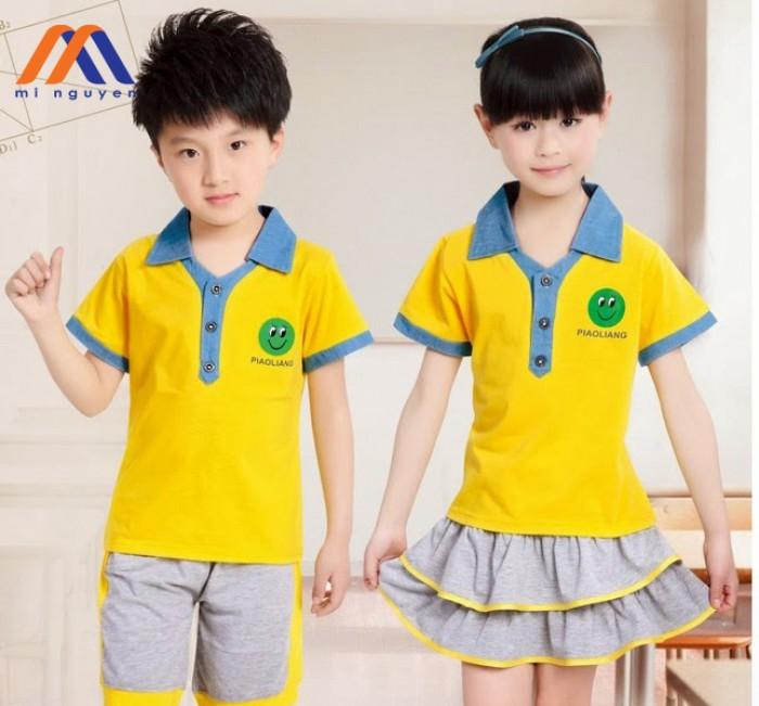 Đồng phục học sinh nhí giá rẻ2