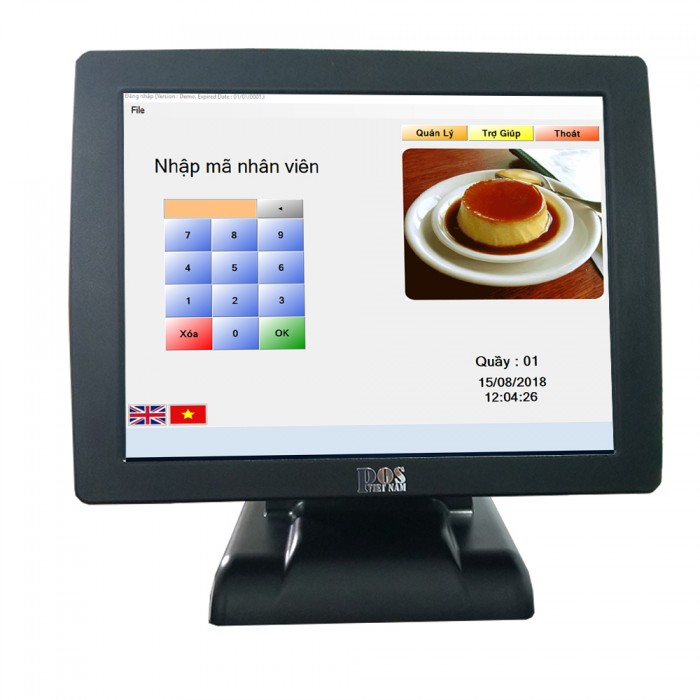 Máy tính tiền Cảm Ứng Giá Rẻ 15 inch3