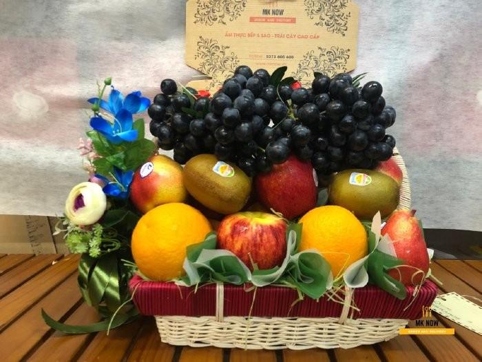 Đặt giỏ trái cây sang trọng - FSNK800