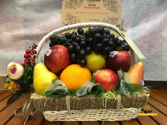 Giỏ trái cây cúng Thần Tài - FSNK790