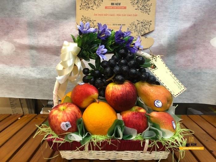 Giỏ trái cây phúng điếu - FSNK810