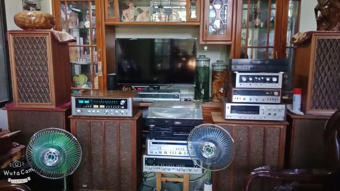 Loa Mĩ Fisher XP10, bass 40, cao 77x62x37