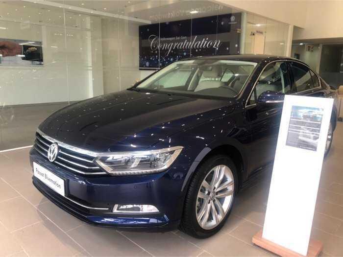 Volkswagen sản xuất năm 2018 Số tự động Động cơ Xăng