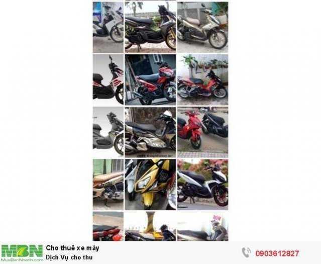 Dịch Vụ cho thuê xe gắng máy tại Tphcm