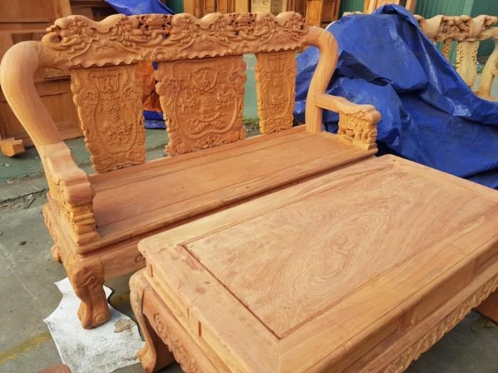 Bộ bàn ghế minh quốc voi gỗ gõ đỏ8