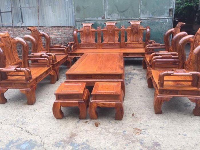 Bộ bàn ghế giả cổ tần thủy hoàng gỗ hương vân4