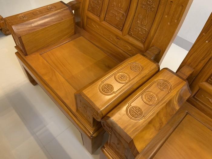 Bộ bàn ghế âu á hộp như ý voi gỗ gõ đỏ,kate1