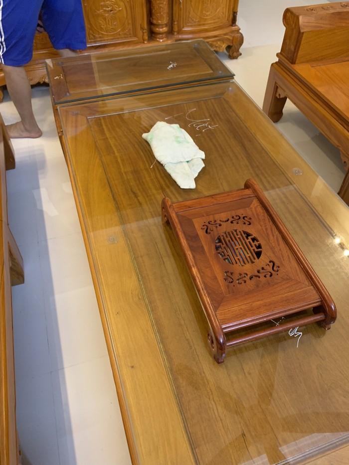 Bộ bàn ghế âu á hộp như ý voi gỗ gõ đỏ,kate0
