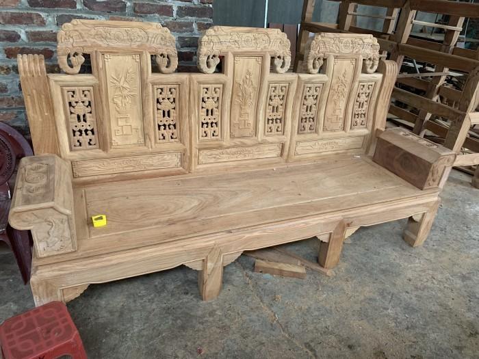 Bộ bàn ghế âu á hộp như ý voi gỗ gõ đỏ,kate3