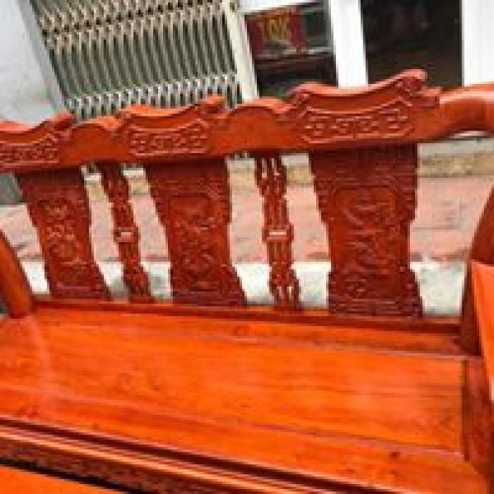 Bộ Bàn Ghế Minh Quốc Triện gỗ hương đá7