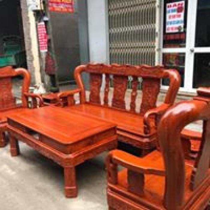 Bộ Bàn Ghế Minh Quốc Triện gỗ hương đá5