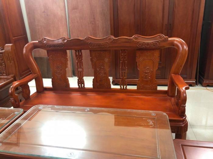 Bộ bàn ghế minh quốc triện gỗ gõ đỏ1