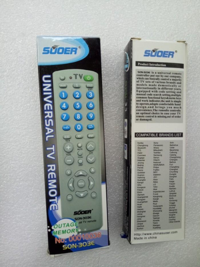 Remote tivi đa năng - Điều khiển tivi đa năng0