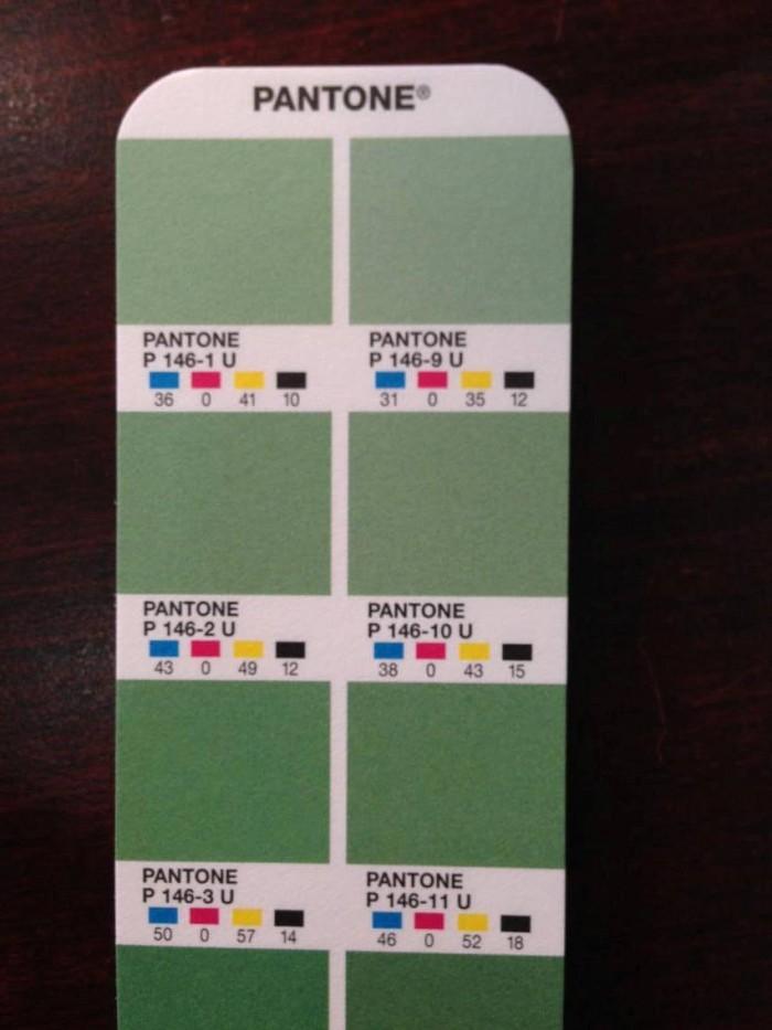 Bảng màu Pantone chính hãng - Pantone Formula Guide Coated & Uncoated – GP1601N7