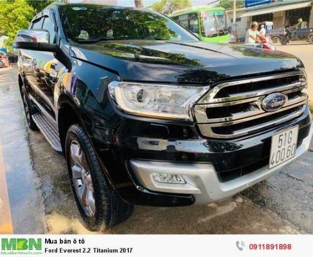 Ford Everest 2.2 Titanium 2017
