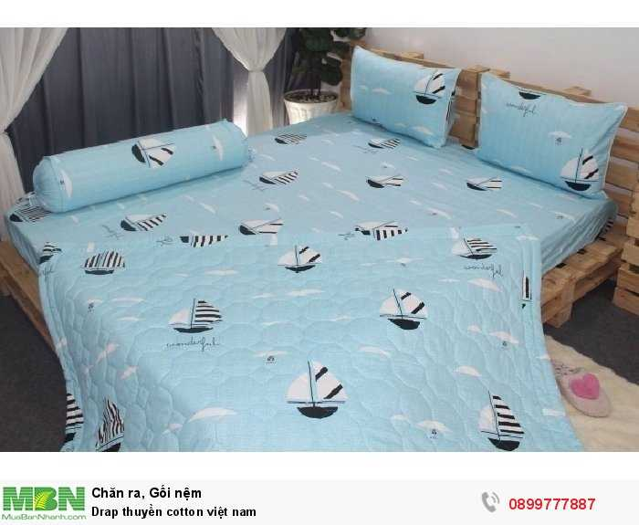Drap thuyền cotton việt nam1