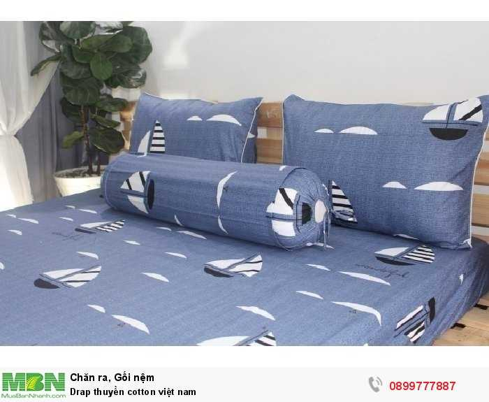 Drap thuyền cotton việt nam3