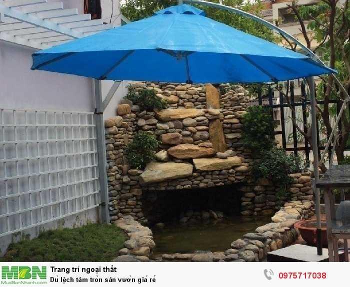 Dù lệch tâm tròn sân vườn giá rẻ1