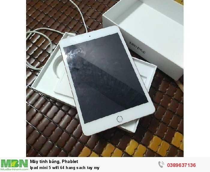 Ipad mini 5 wifi 64 hang sach tay my0