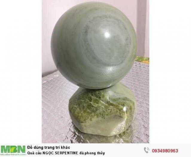 Quả cầu NGỌC SERPENTINE đá phong thủy ( sỉ & lẻ ib )1