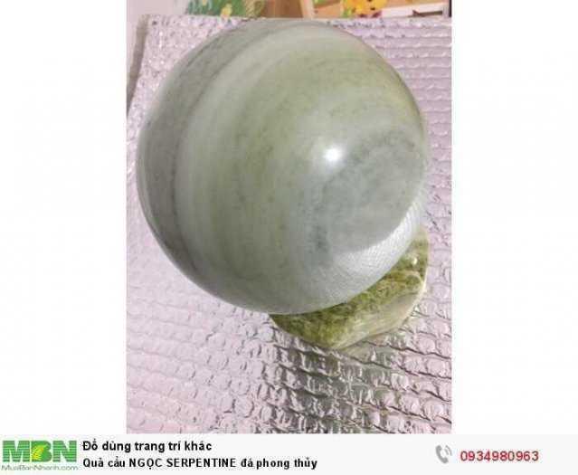 Quả cầu NGỌC SERPENTINE đá phong thủy ( sỉ & lẻ ib )2