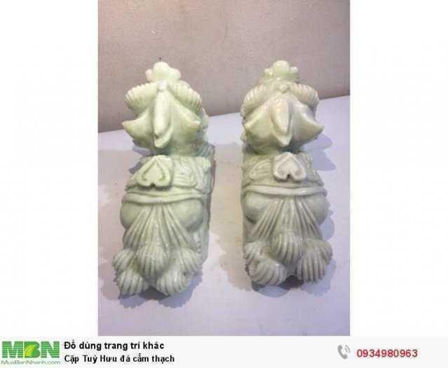 Cặp Tuỳ Hưu đá cẩm thạch ( sỉ & lẻ ib )1