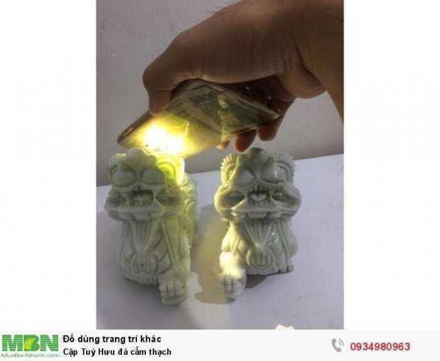 Cặp Tuỳ Hưu đá cẩm thạch ( sỉ & lẻ ib )2