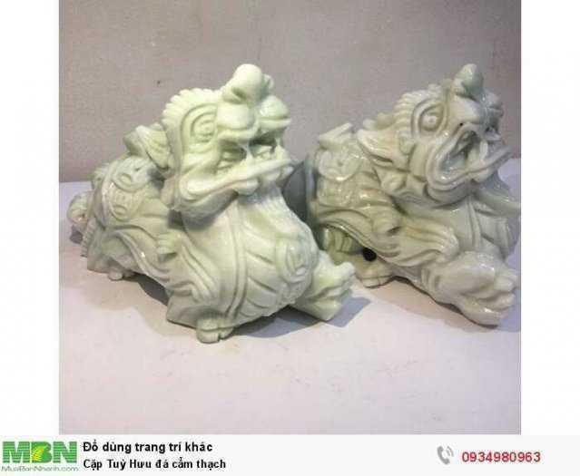 Cặp Tuỳ Hưu đá cẩm thạch ( sỉ & lẻ ib )3
