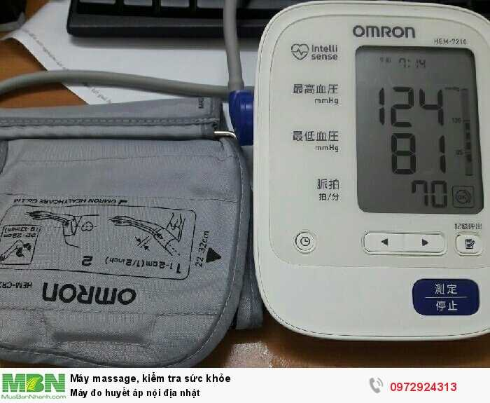 Máy đo huyết áp nội địa nhật1