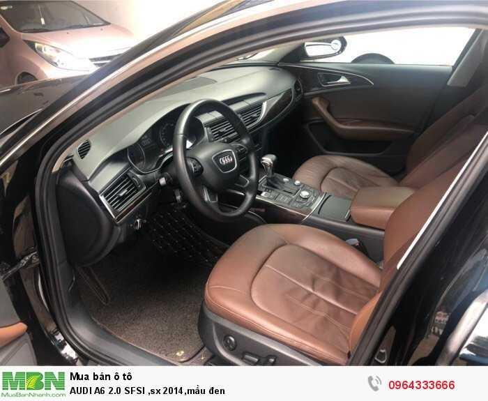 Audi A6 sản xuất năm 2014 Số tự động Động cơ Xăng