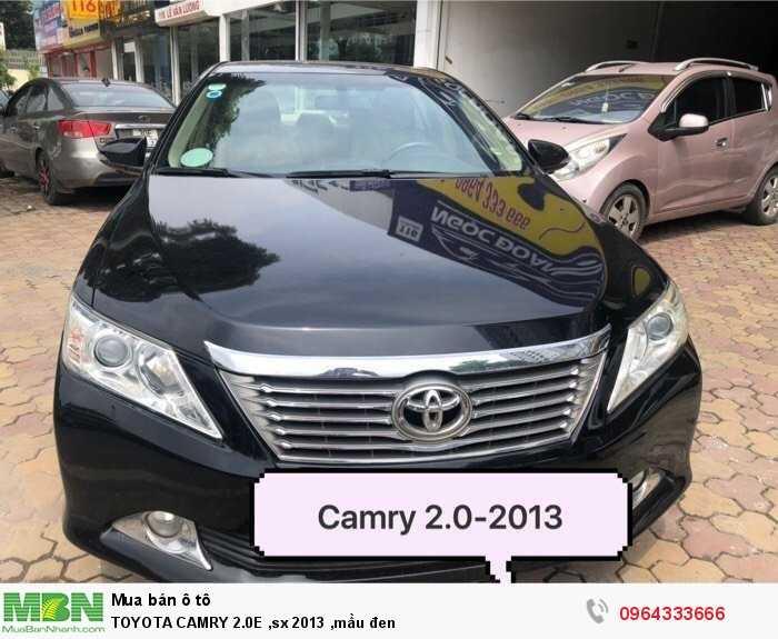 Toyota Camry sản xuất năm 2013 Số tự động Động cơ Xăng