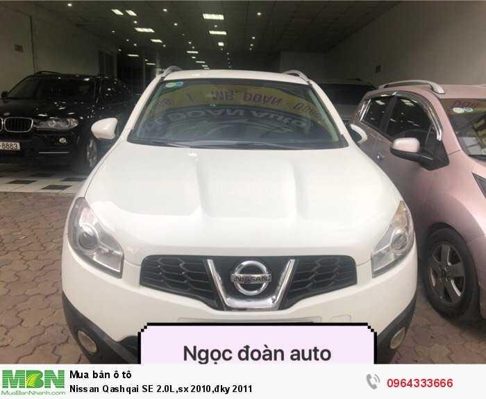 Nissan Qashqai SE 2.0L,sx 2010,đky 2011