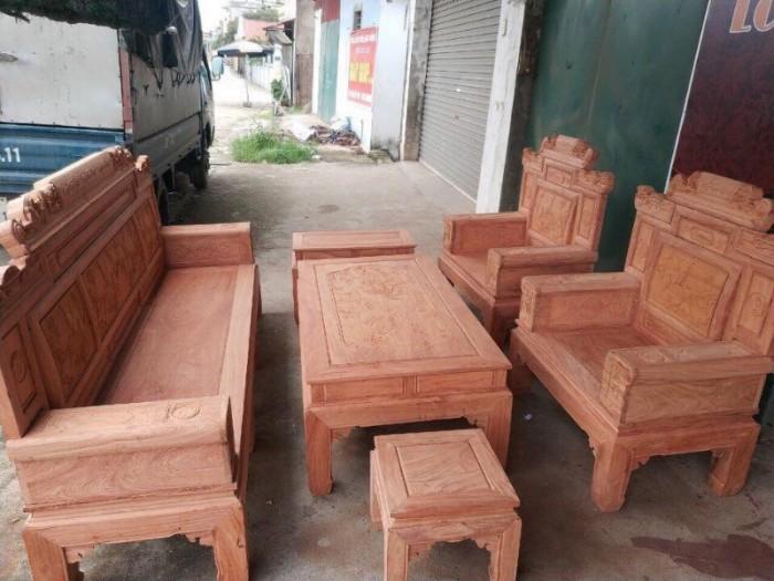 Bộ bàn ghế giá cổ phù dung gỗ hương đá18
