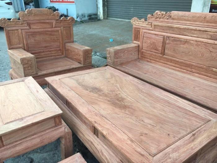 Bộ bàn ghế giá cổ phù dung gỗ hương đá11