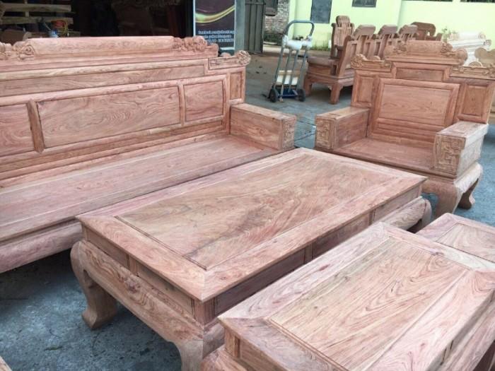 Bộ bàn ghế giá cổ phù dung gỗ hương đá12
