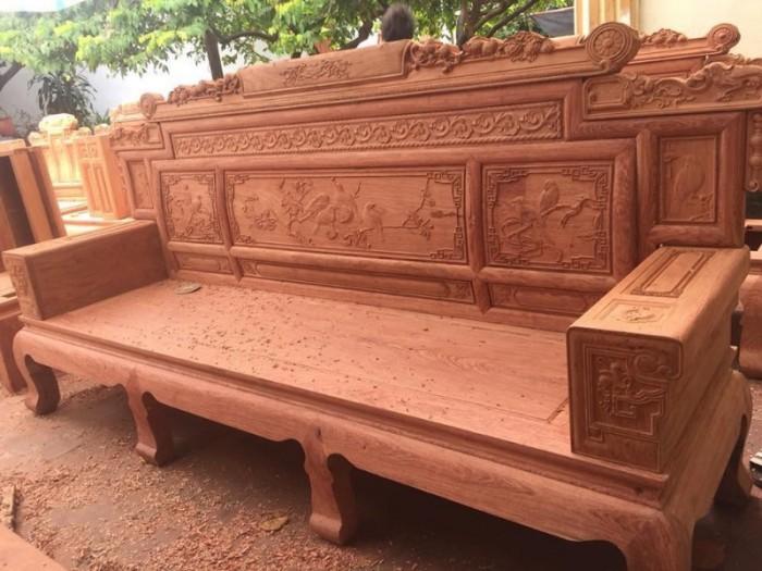 Bộ bàn ghế giá cổ phù dung gỗ hương đá17