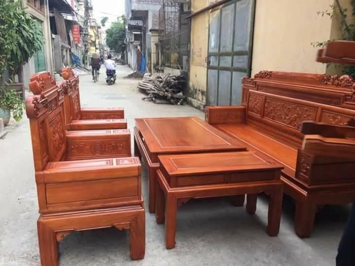 Bộ bàn ghế giá cổ phù dung gỗ hương đá13