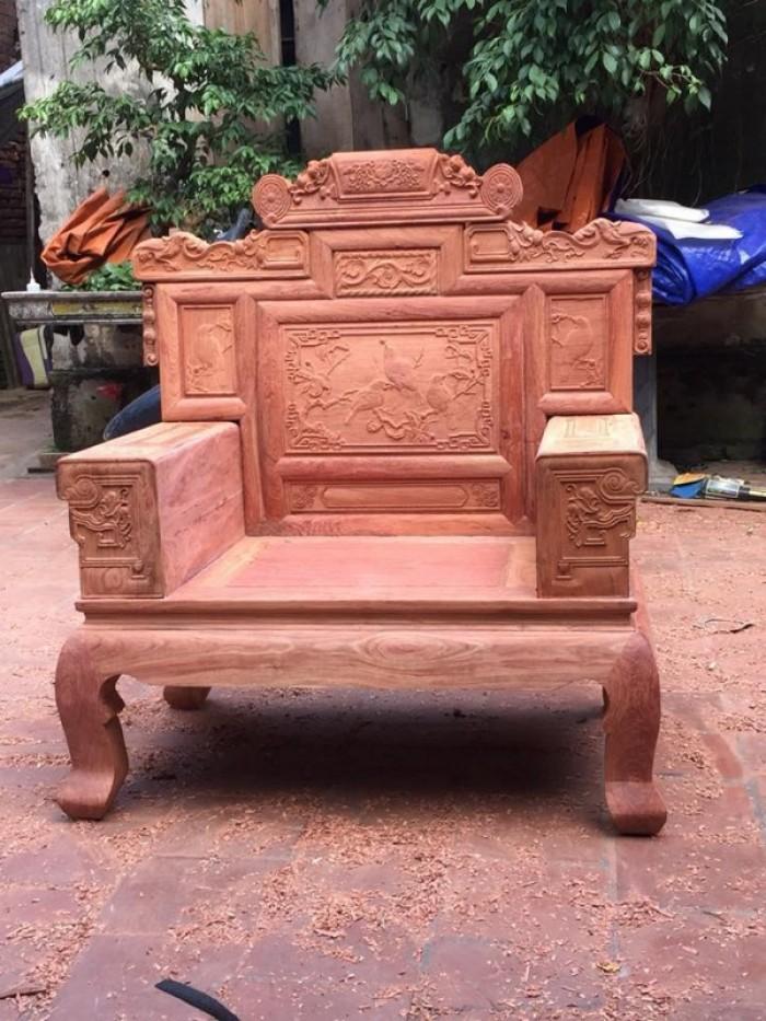 Bộ bàn ghế giá cổ phù dung gỗ hương đá15
