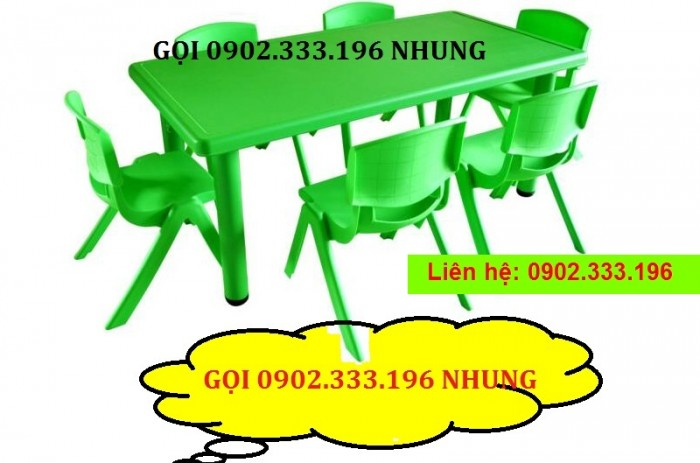 Cung cấp bàn ghế mẫu giáo giá rẻ4