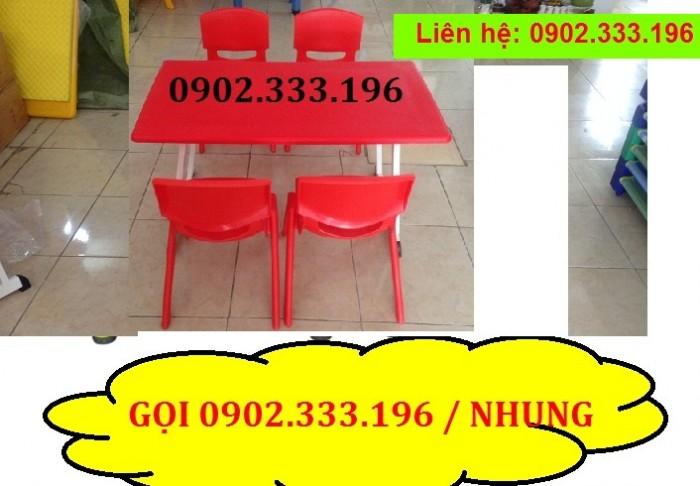 Cung cấp bàn ghế mẫu giáo giá rẻ6