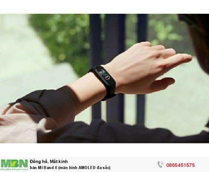 bán MI Band 4 (màn hình AMOLED đa sắc)2